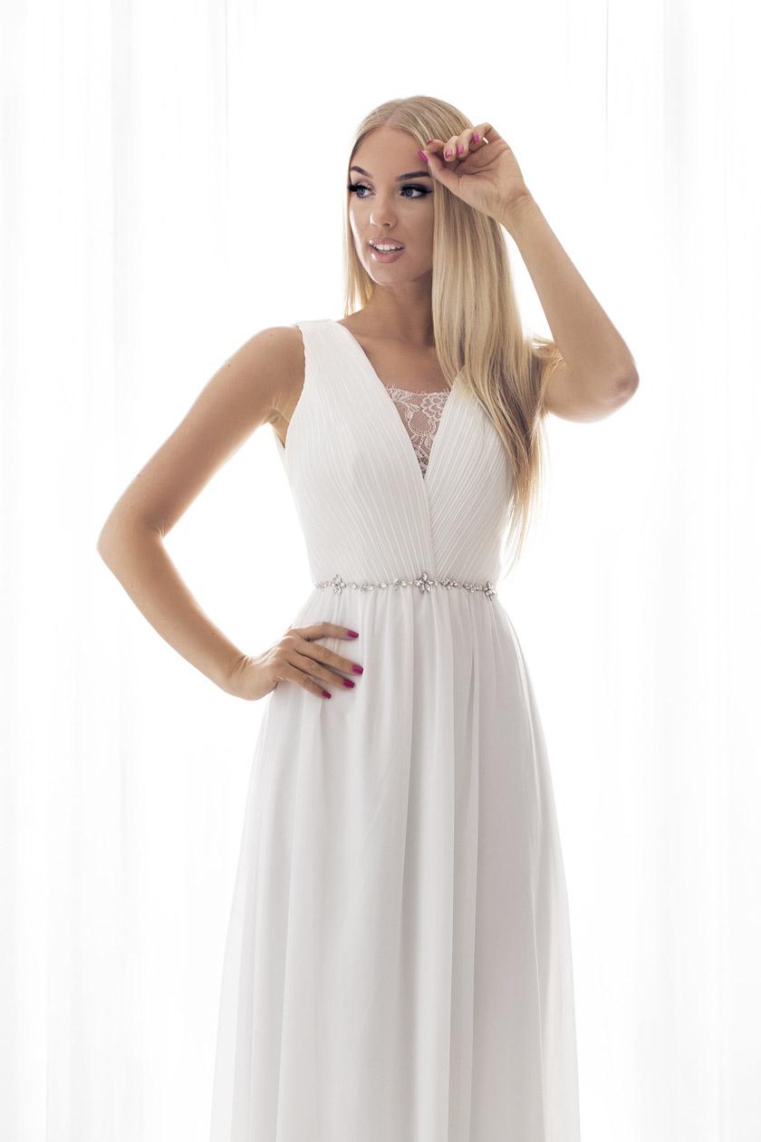 SENAT FLORIDA  valge kleit