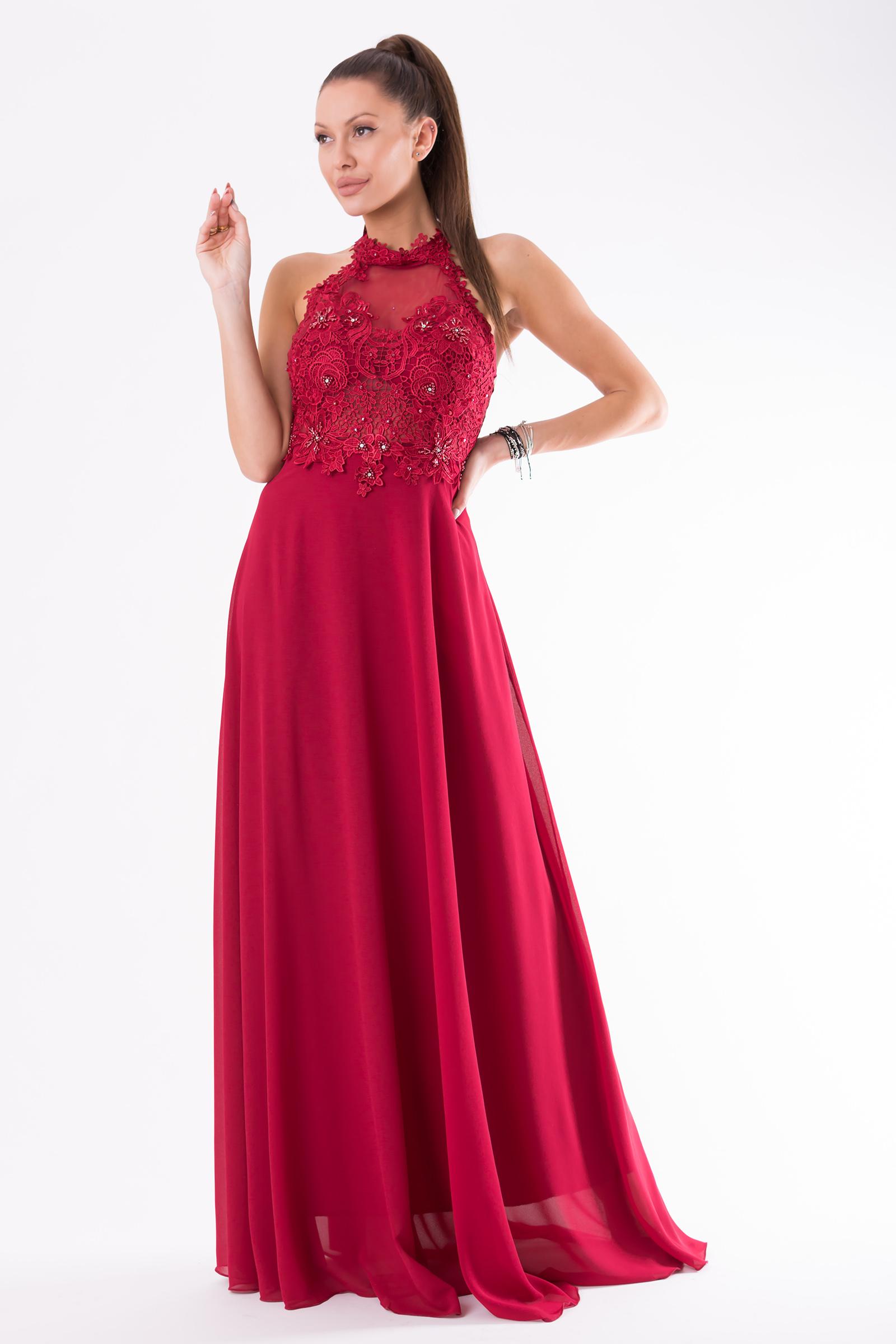 EVA&LOLA  DRESS RED 54003-3