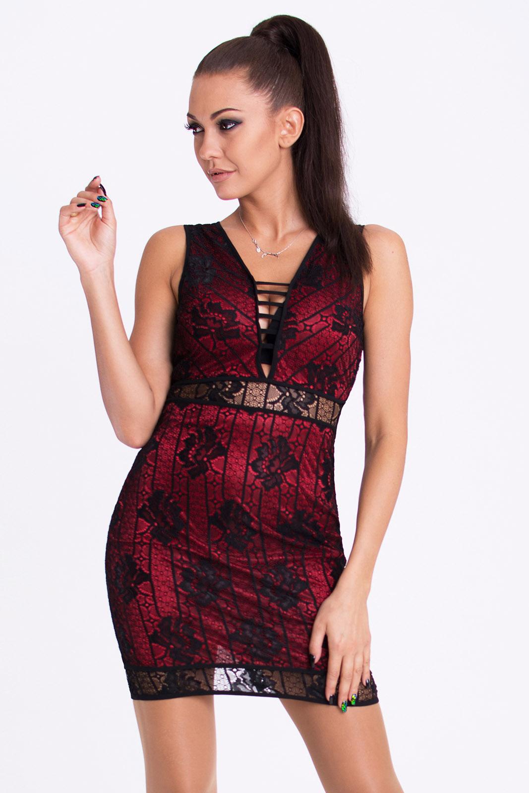 EMAMODA punane kleit