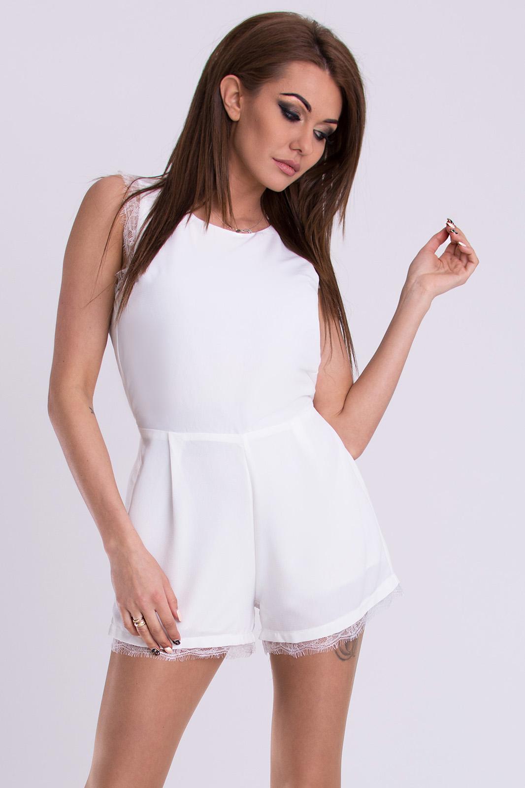 PINK BOOM valge pükskostüüm..