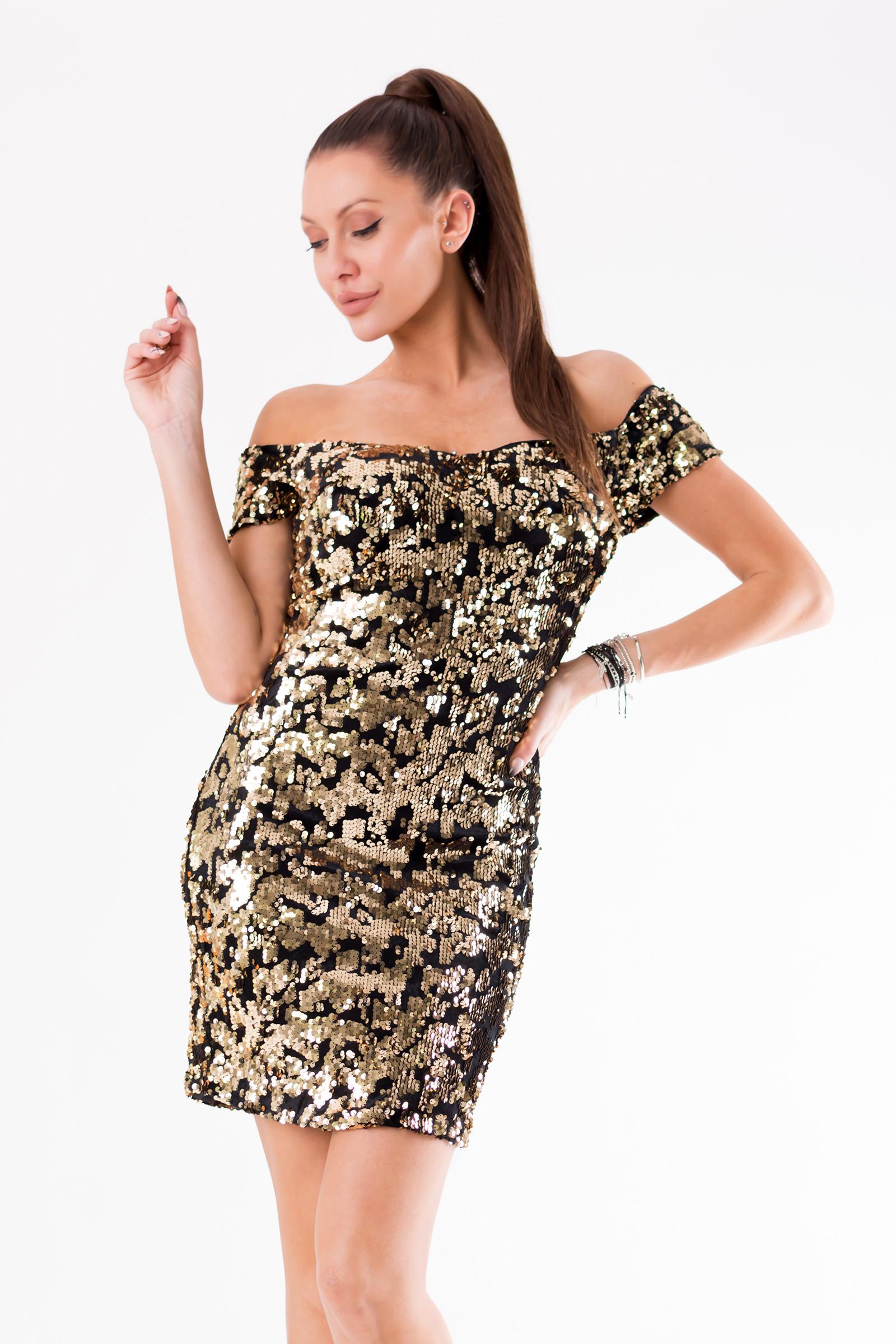 EVA&LOLA kuldne kleit