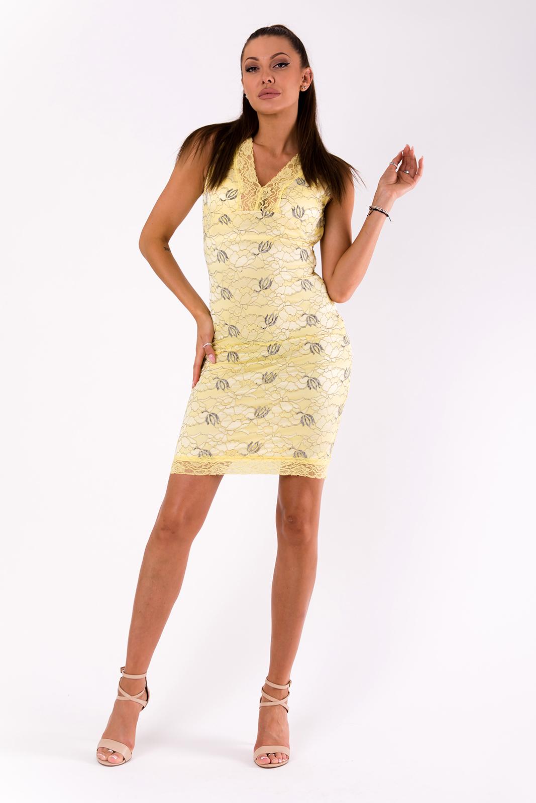 EMAMODA kollane kleit