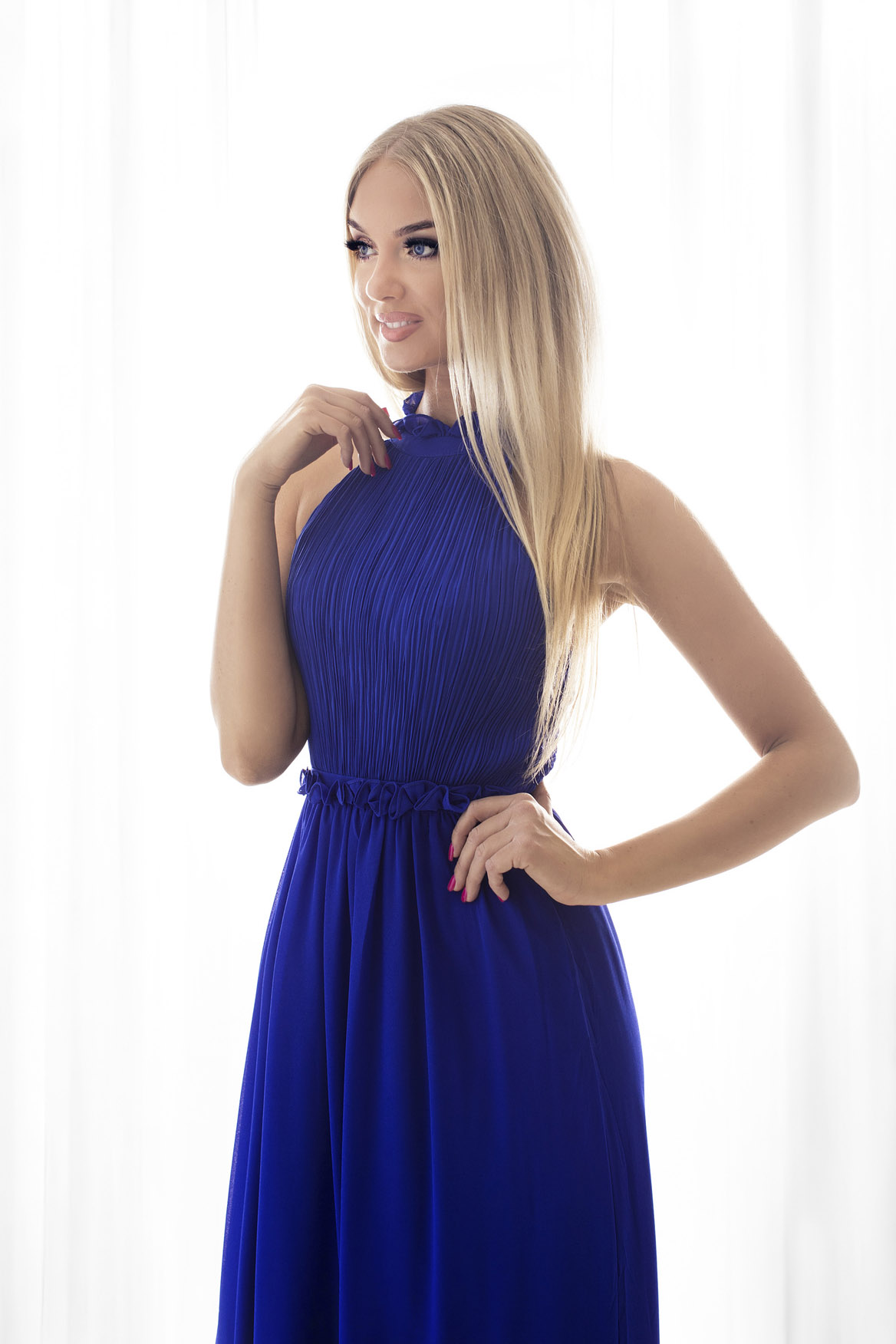 SENAT DELICATE  sinine kleit