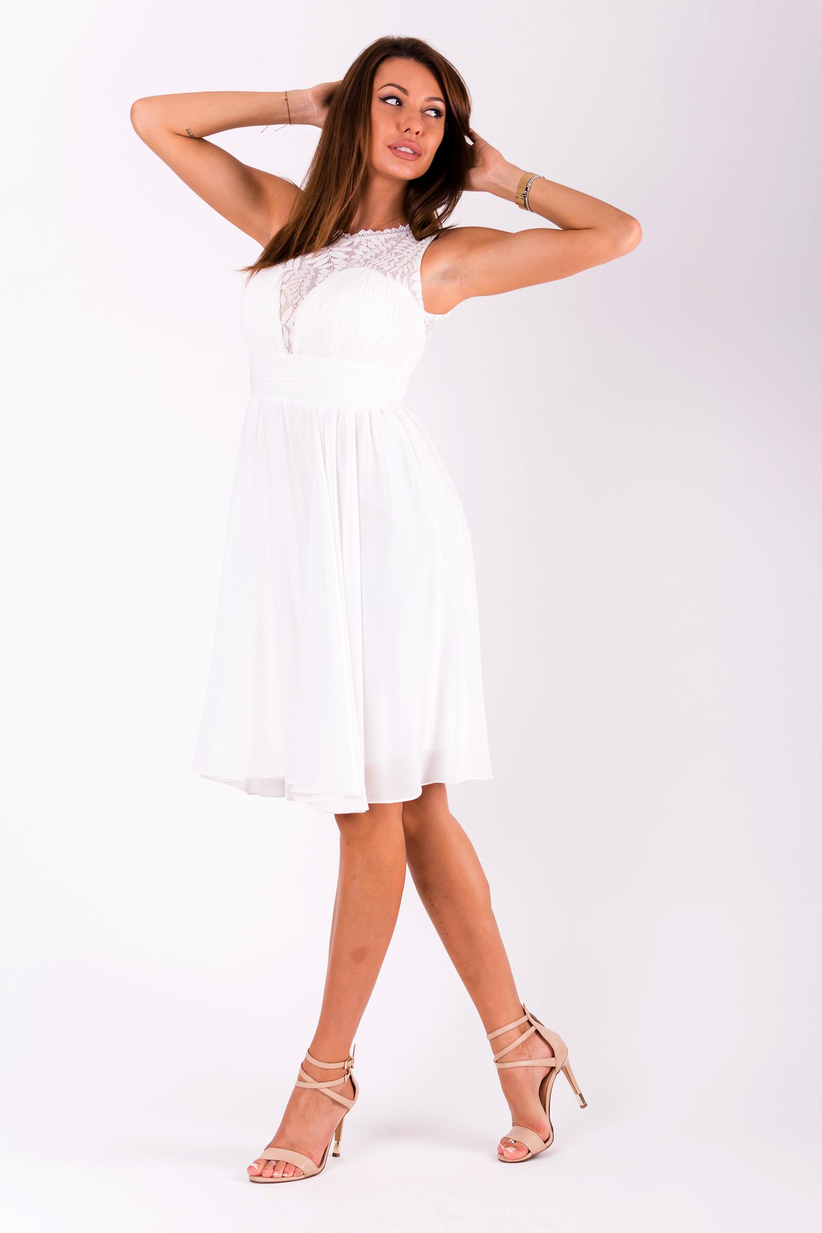 EVA&LOLA  valge kleit