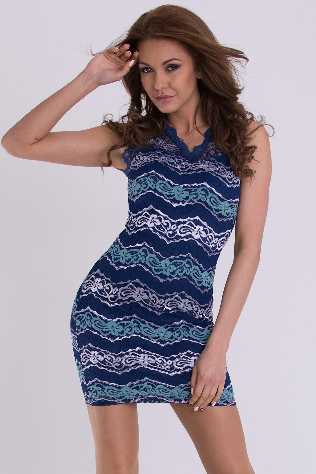 EMAMODA DRESS - NAVY BLUE 1300..