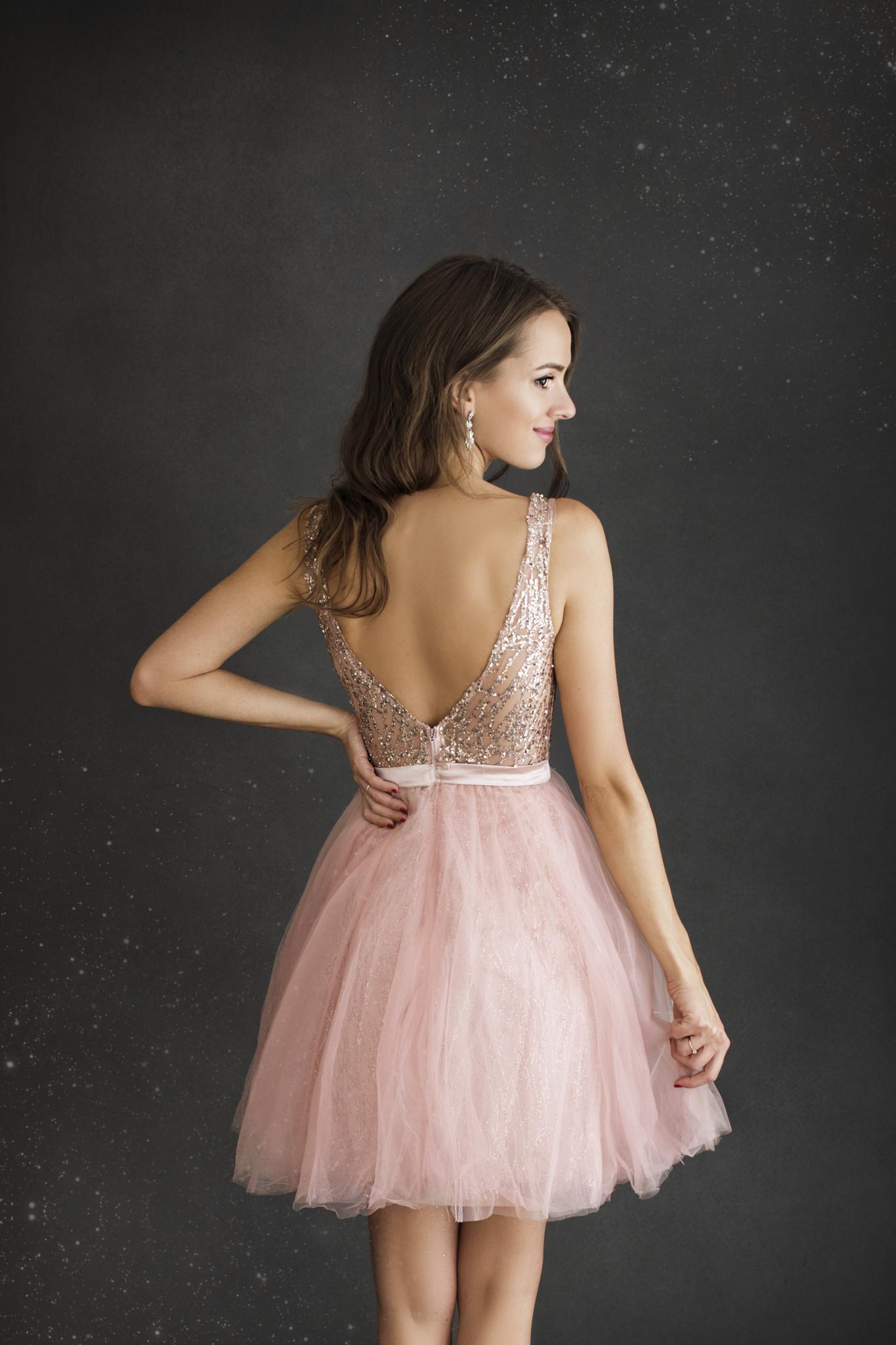 SENAT PRINCESS hõbedane kleit