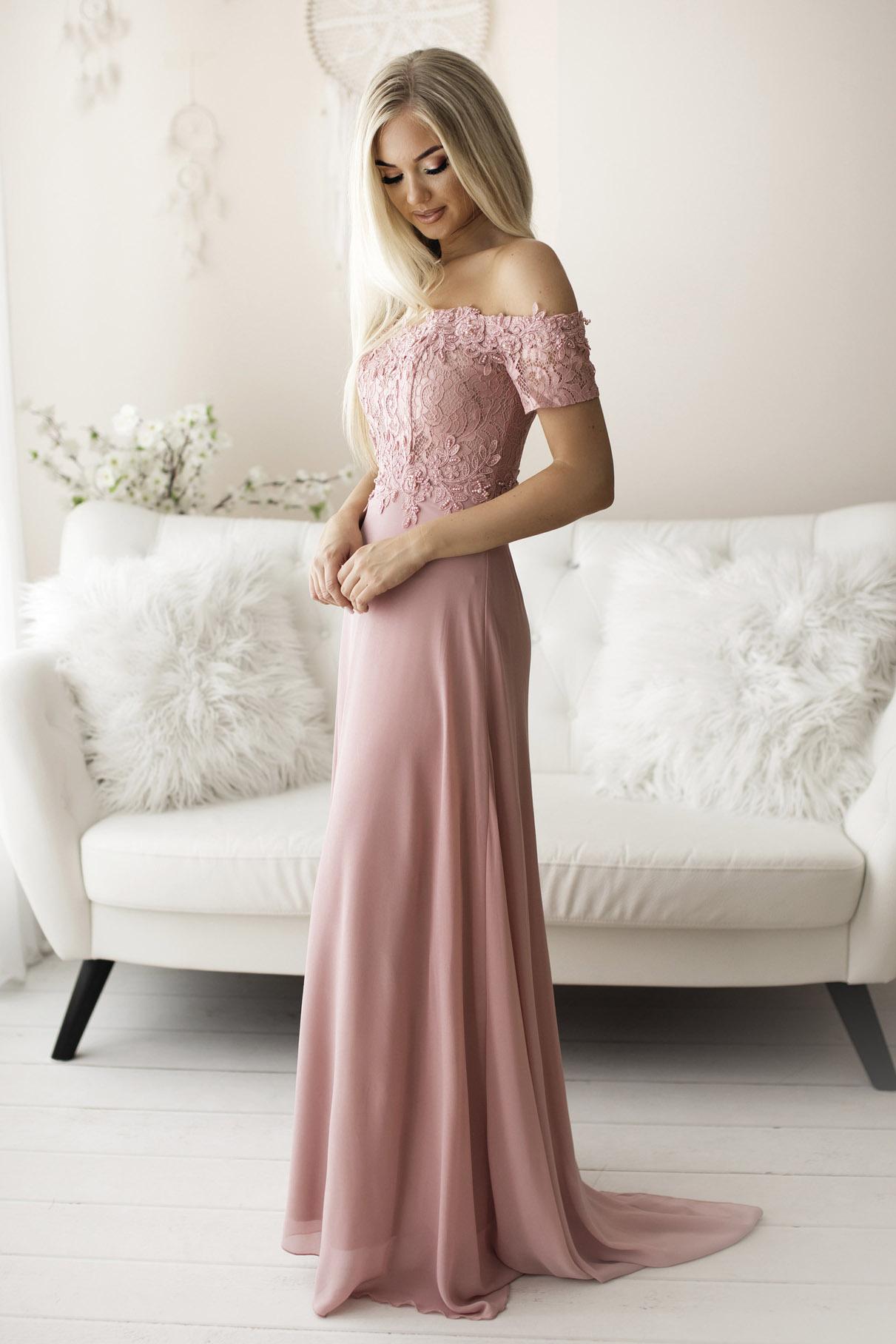 SENAT DELICATE roosa kleit