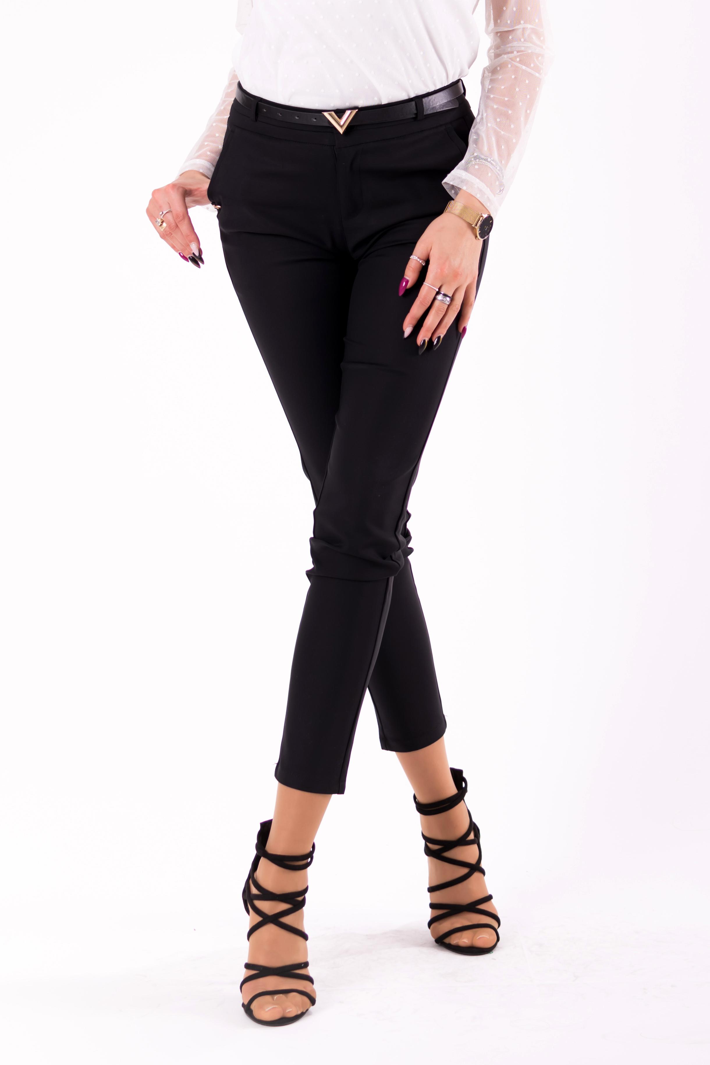 Mustad püksid + vöö