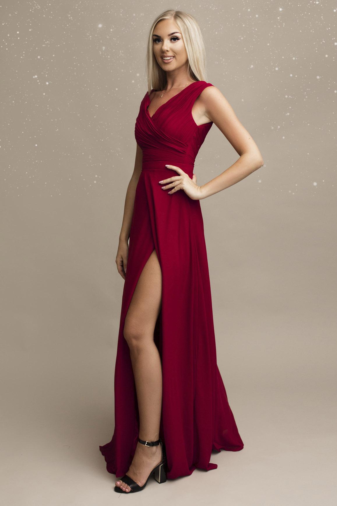 SENAT veinipunane kleit