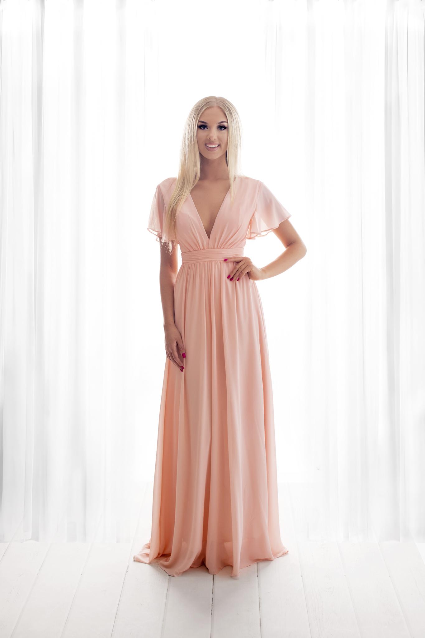 SENAT SENSITIVE roosa kleit