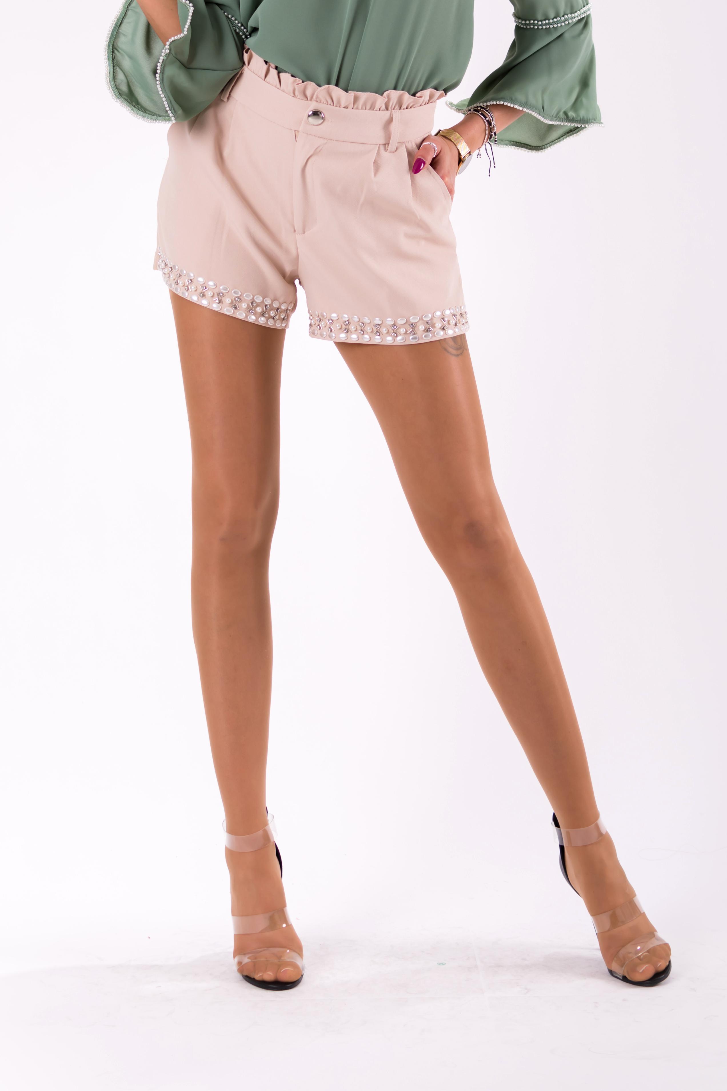 Lühikesed püksid- CAPUCCINO