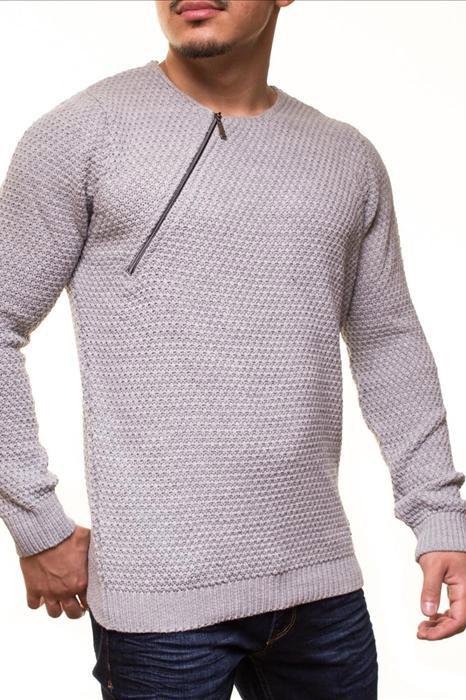 Meeste pikkade varrukatega sviiter