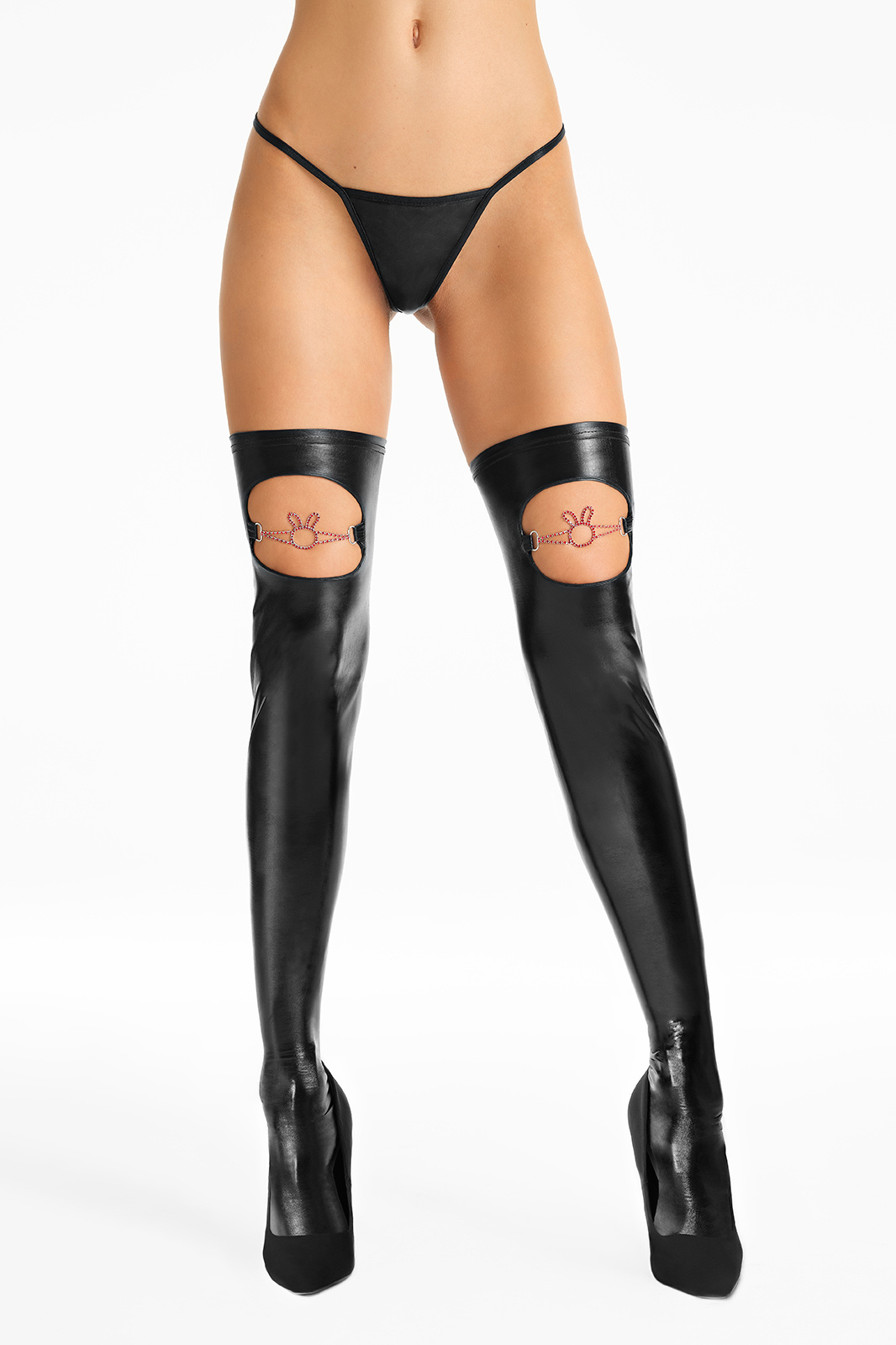 SHINY RABBIT Stockings S536 - ..