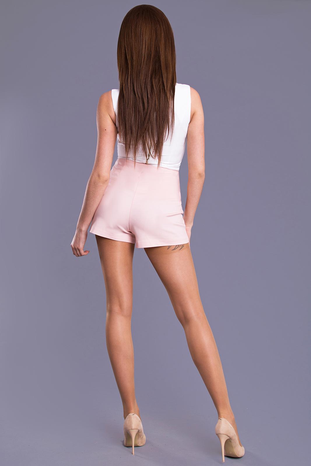 DROLE DE COPINE roosad lühikesed püksid