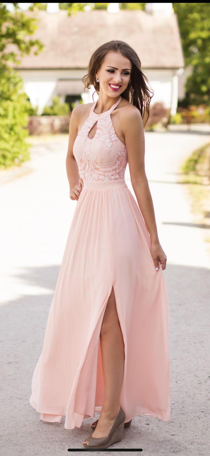 EVA&LOLA roosa kleit