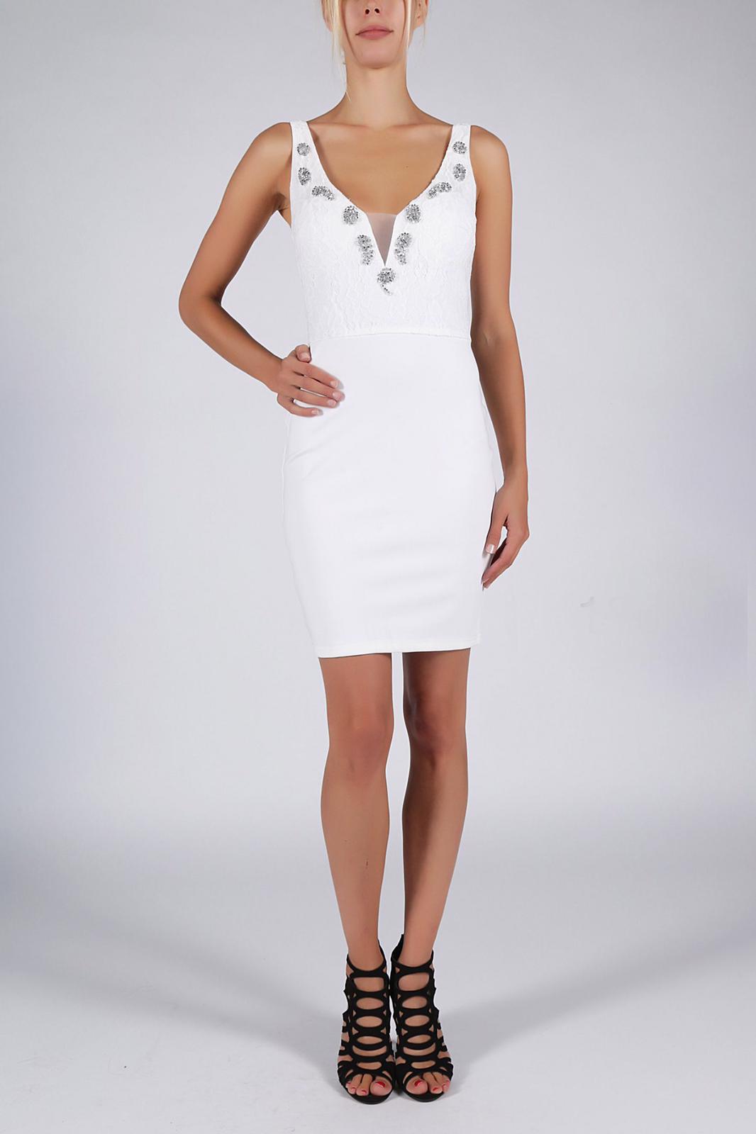 SOKY SOKA  valge kleit