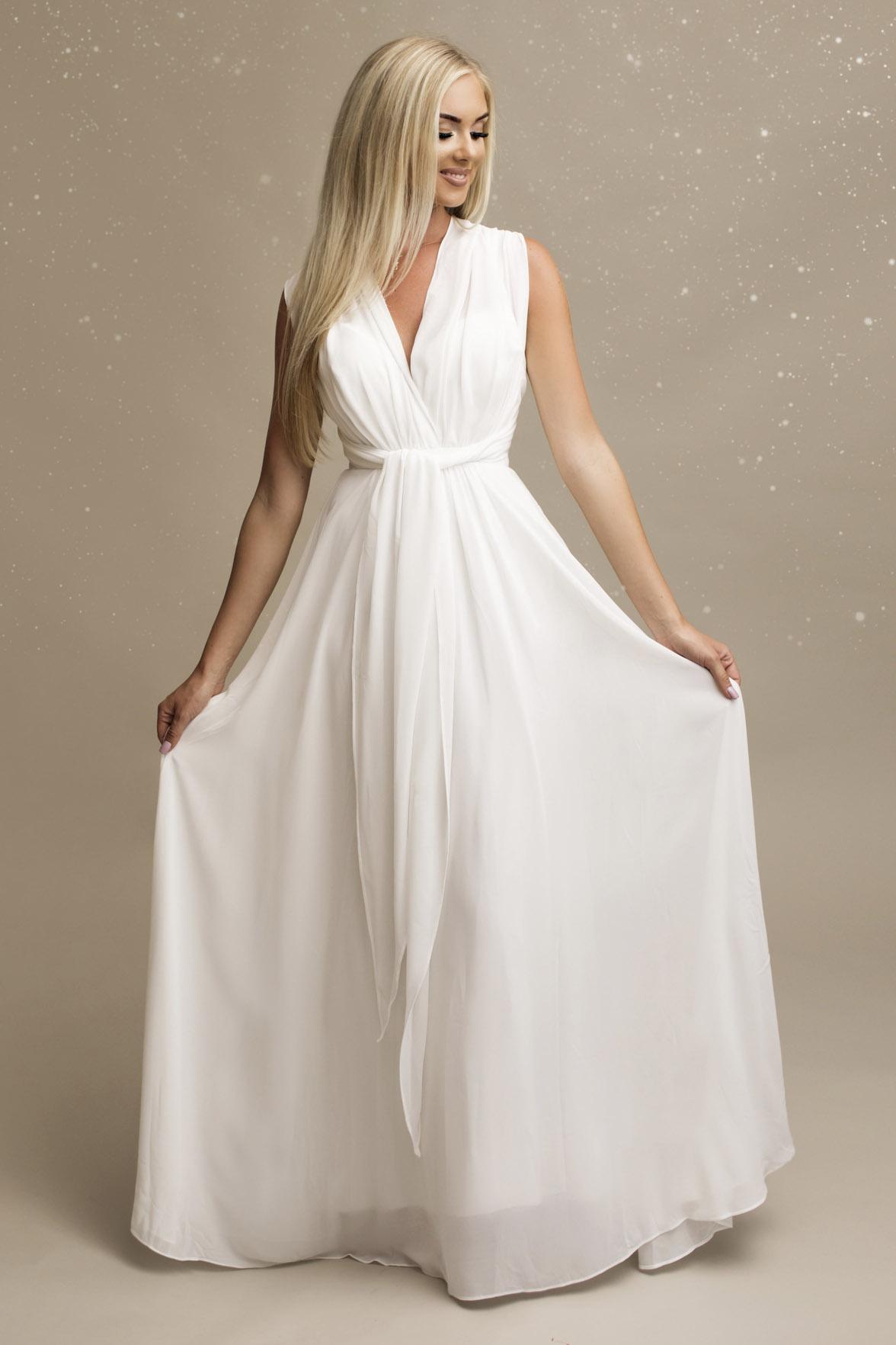 SENAT DELICATE valge kleit