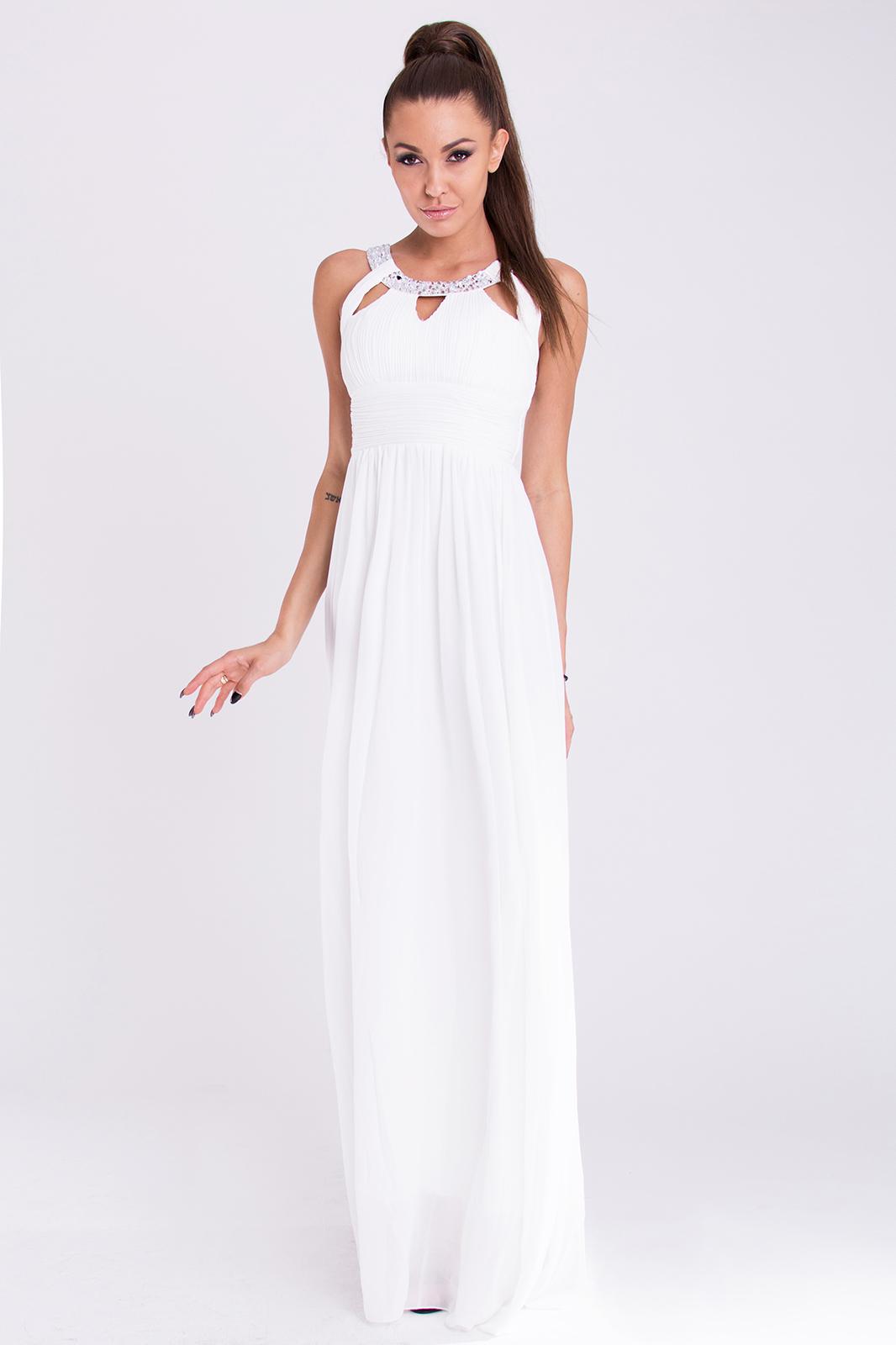 EVA & LOLA DRESS - WHITE 19011..