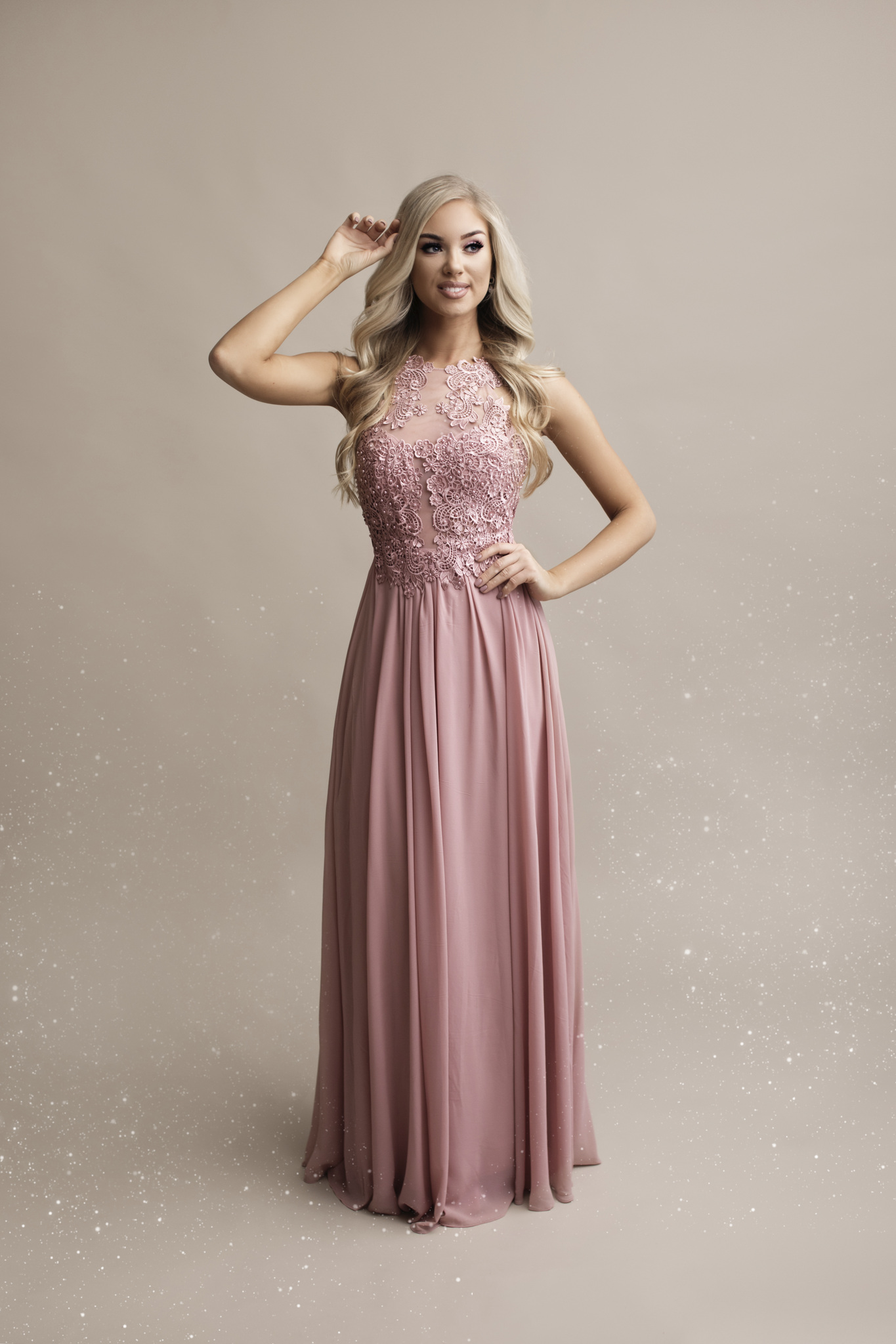 SENAT LOVELY roosa kleit