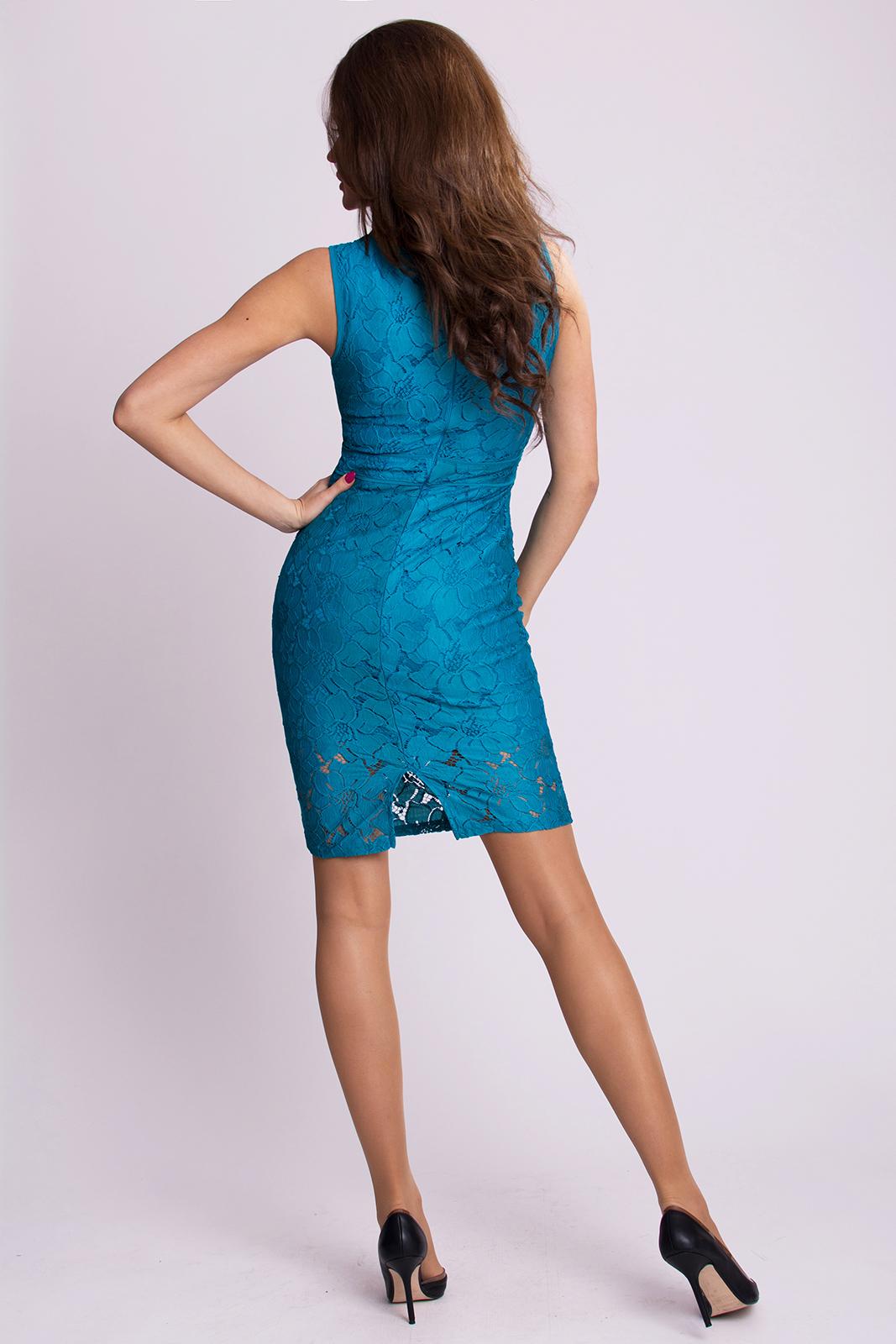 EMAMODA DRESS - dark blue 9704-4