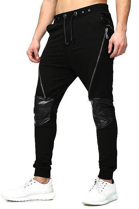 Černé kalhoty 27014-1